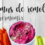 Hummus de betterave avec thermomix