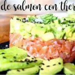 Tartare de saumon avec Thermomix