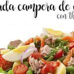 Salade de campagne d'été au thermomix