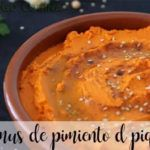 Hummus au poivre du piquillo avec thermomix
