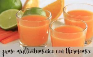 Jus ou multivitamines avec Thermomix