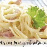 Spaghetti carbonara avec Thermomix