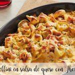 Tortellini en sauce au fromage avec Thermomix