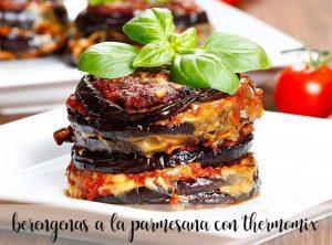 aubergine parmigiana en thermomix
