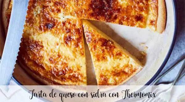 Cheesecake au cidre avec Thermomix