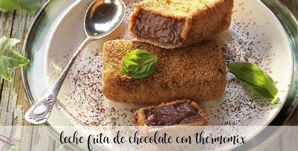 Lait frit au chocolat avec thermomix