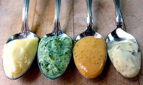 Mayonnaise aromatisée au Thermomix