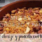 Migas au chorizo et bacon au thermomix