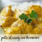 Curry de poulet au Thermomix