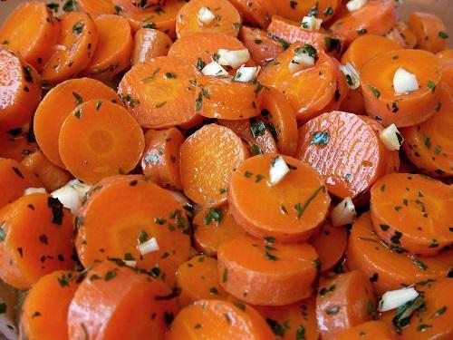 Recette de salade de carottes marocaine pour le thermomix