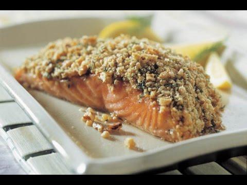 Recette de saumon à la pistache croquante au thermomix