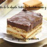 Gâteau au chocolat et biscuit, gâteau de grand-mère