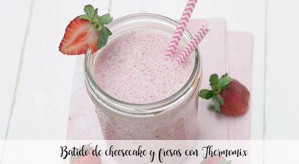 Cheesecake aux fraises au Thermomix