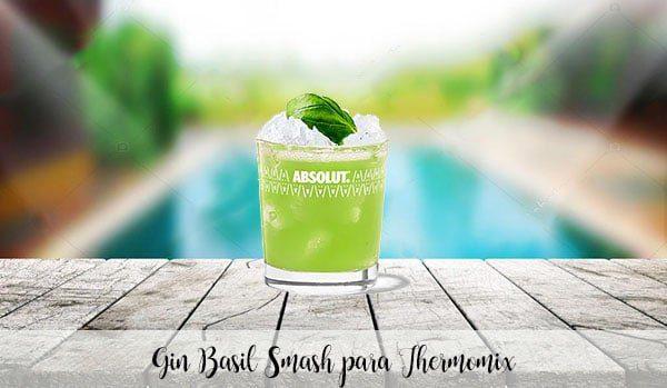 Basil Smash Gin pour Thermomix