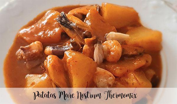 Pommes de terre Mare Nostrum Thermomix