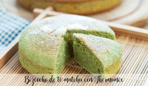 Gâteau au thé matcha au Thermomix
