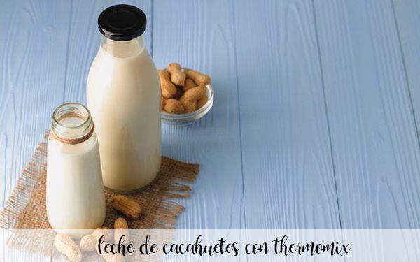 lait d'arachide au thermomix