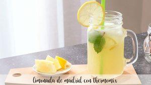 Limonade de Madrid au thermomix