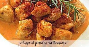 poitrines de poulet au paprika au thermomix