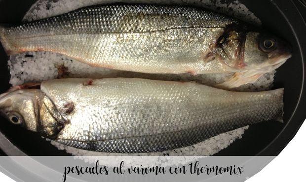 25 poissons varoma au thermomix