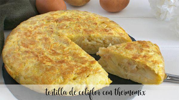 Tortillas de chou-fleur au thermomix