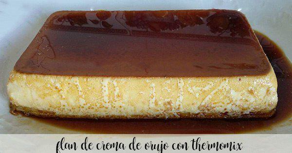 Flan à la crème de grignons Sierra del Oso au Thermomix