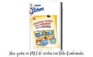 Livre PDF gratuit de recettes avec du lait concentré