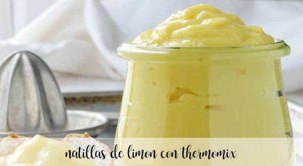 Crème au citron au Thermomix