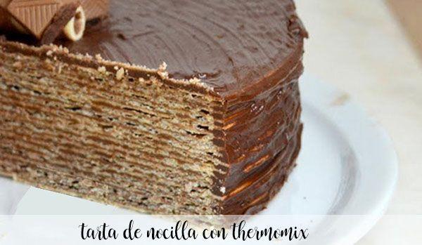 gâteau nocilla au thermomix